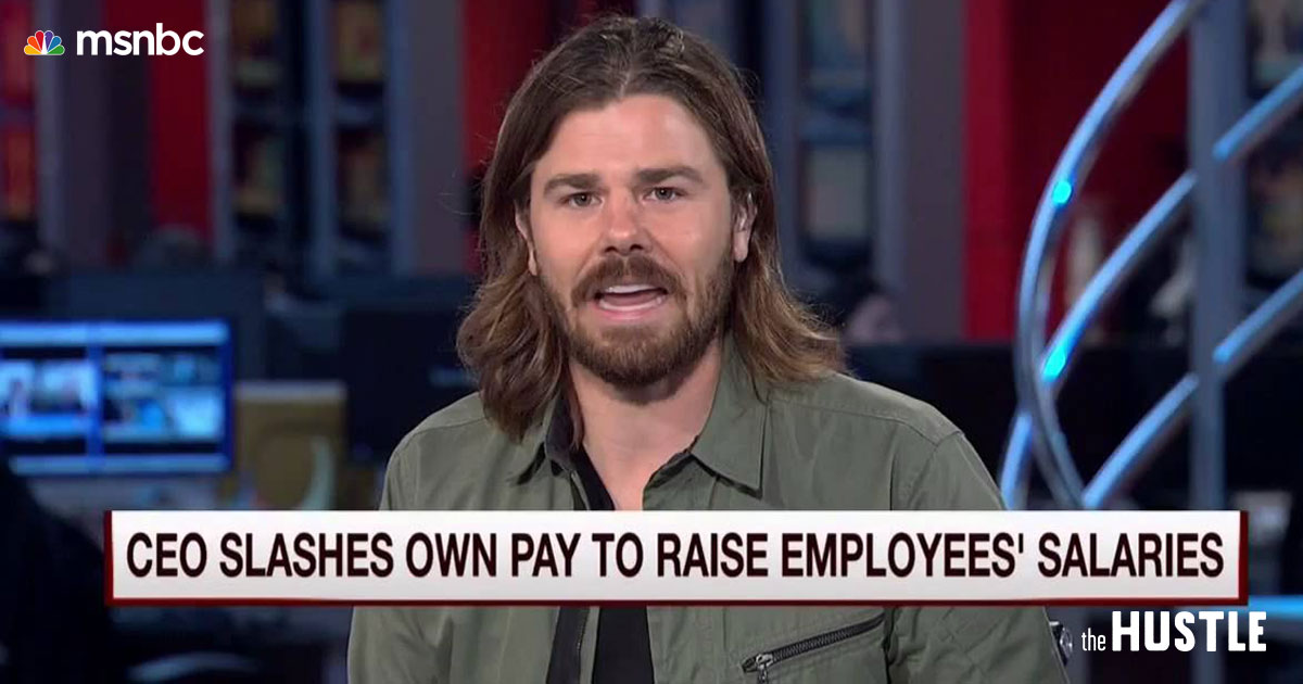 Dan Price, the Gravity Payments CEO Paying Everyone $70,000, Is Full of Shit