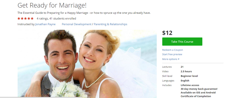 Udemy - Marriage