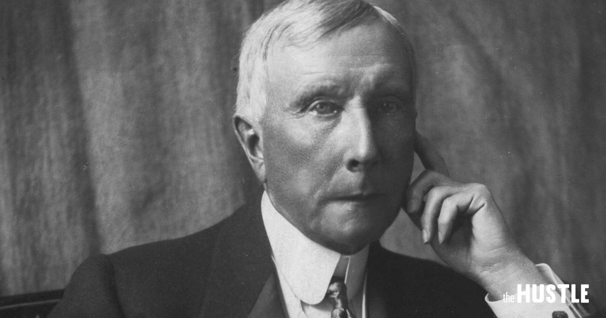 The Epic Rise Of John D Rockefeller