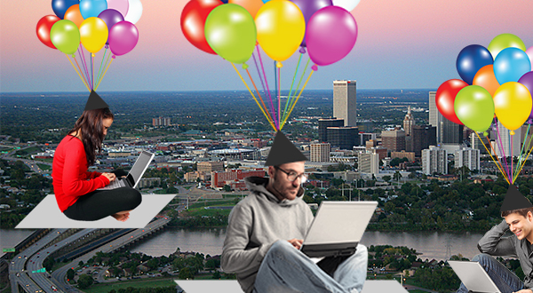 Can small cities like Tulsa pay 'digital nomads' to put down roots?