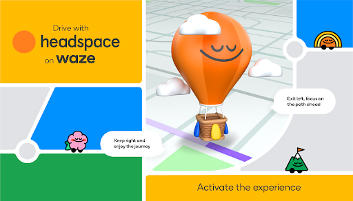 Waze and Headspace partner on a peaceful commute