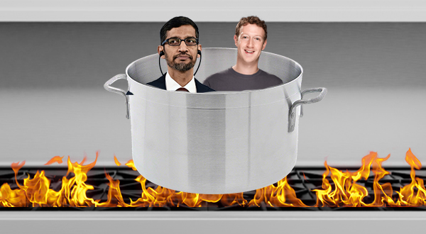 Facebook and Google are in hot water